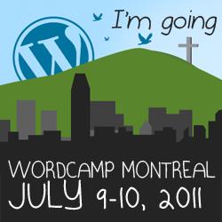 Sponsoring WordCamp Montreal 2011