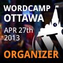 WordCamp Ottawa 2013 - Organizer