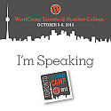 WordCamp Toronto 2013 - Speaker