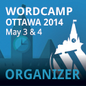 WordCamp Ottawa 2014 - Organizer