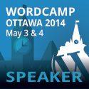 WordCamp Ottawa Speaker