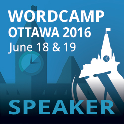 WordCamp Ottawa 2016:  WordPress page builders: A quick intro
